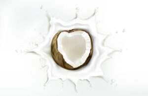 חלב קוקוס העוזר לטיפול בהתקרחות