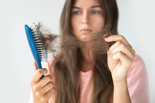 נשירת שיער נשים